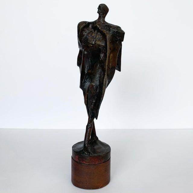 Abstract Carole Harrison Figurative Matador Sculpture For Sale - Image 3 of 13