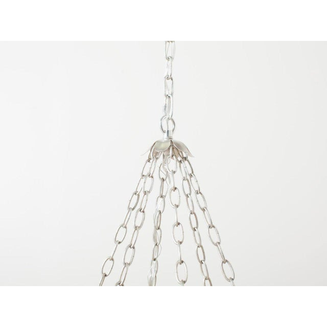 Contemporary Cordelia Glass Beaded Chandelier For Sale - Image 3 of 6