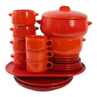 Gerz West German Dish Set - Mid Century Modern