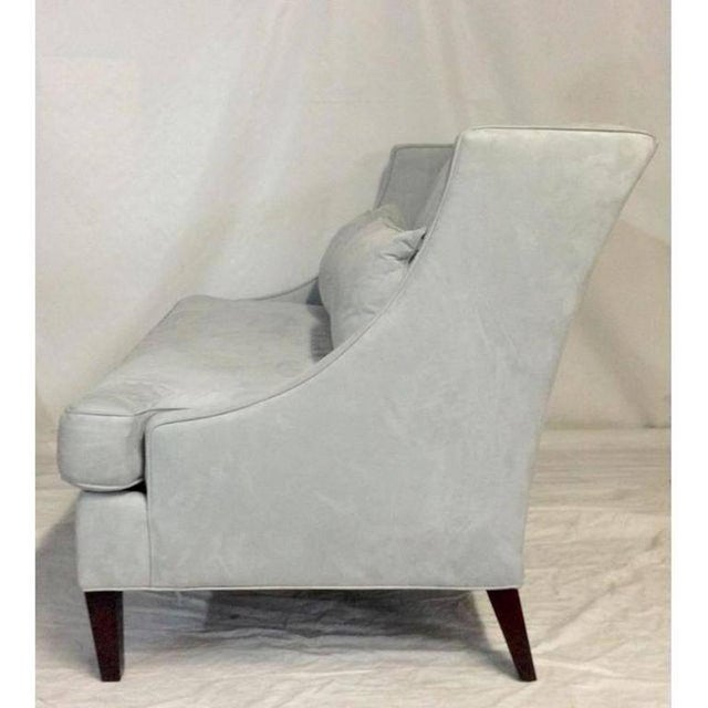 Contemporary American Made Upholstered Settee - Image 4 of 6