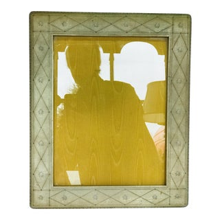 1950s Vintage Leather Picture Frame For Sale