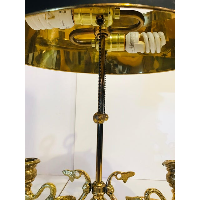 Mid 20th Century Bouillotte Lamp For Sale - Image 4 of 7
