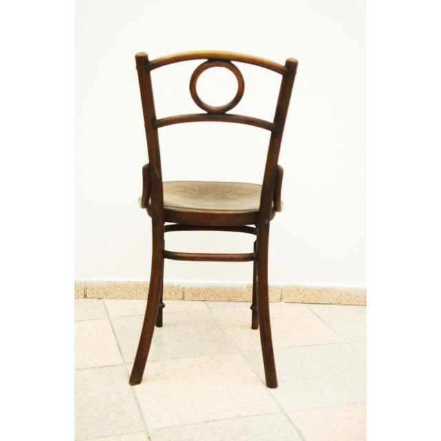 Austrian bentwood chair For Sale - Image 6 of 11