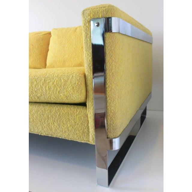 1970s Vintage Milo Baughman Style Sofa For Sale In Saint Louis - Image 6 of 10