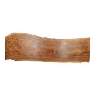 Walnut Slab Live Edge Headboard