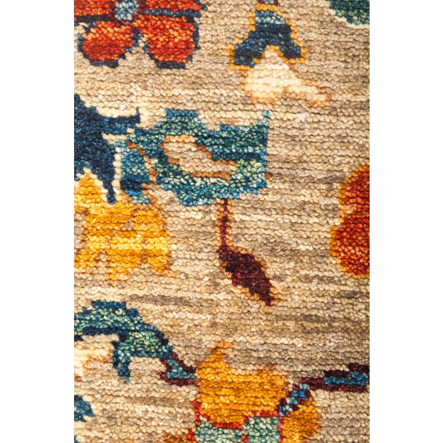 """Ziegler Hand Knotted Area Rug - 6' 2"""" X 9' 2"""" - Image 3 of 4"""