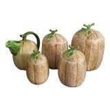 Image of The Haldon Group Melon Pitcher & Canister Set - 5 Pieces For Sale