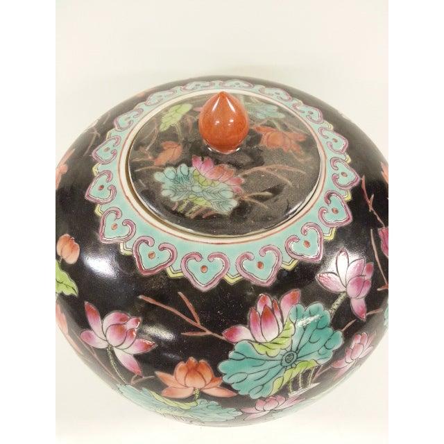 Black Vintage Melon Jars - A Pair - Image 8 of 8