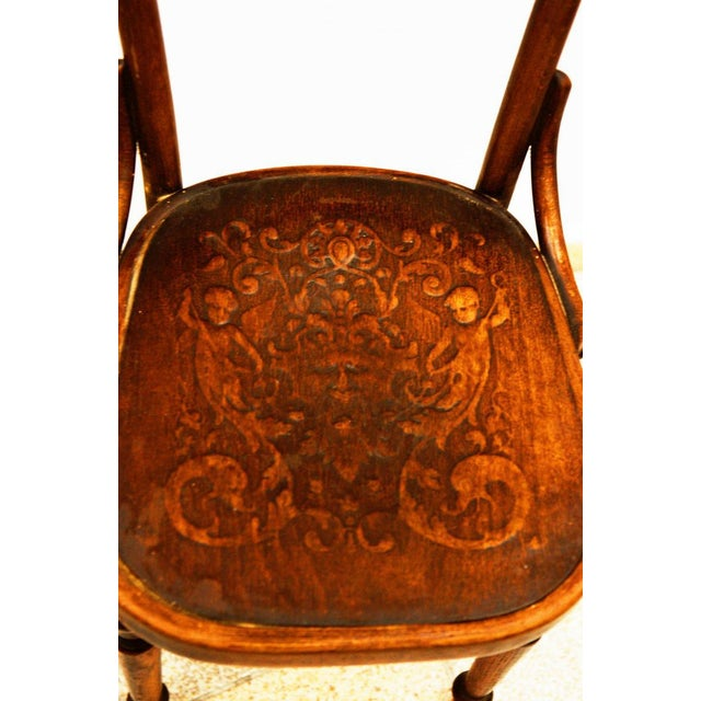 Austrian bentwood chair For Sale - Image 9 of 11