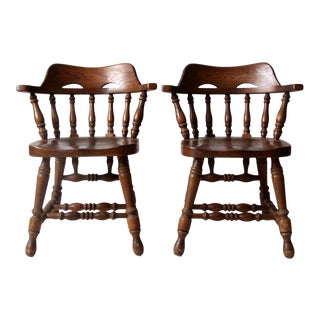 Vintage Richardson Brothers Chairs Pair For Sale