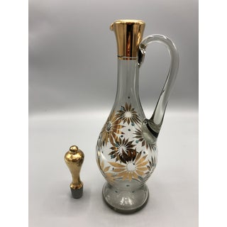 Mid Century Glass Decanter Preview
