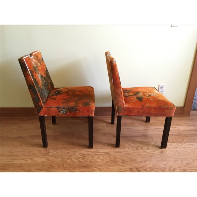 Edward Wormley for Dunbar Side Chairs - A Pair - Image 5 of 7