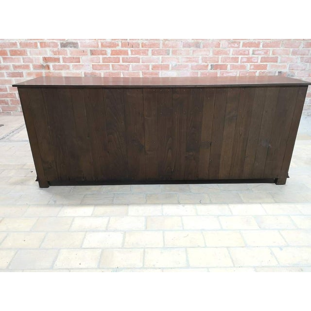 Early 20th C. French Country Oak Sideboard Credenza Buffet Server For Sale - Image 9 of 13