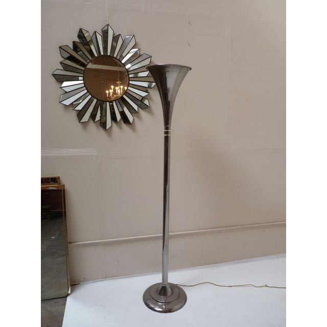 Art Deco Torchiere with Lucite Fins - Image 3 of 6