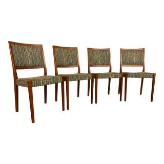 Svegards Markaryd Mid Century Teak Dining Chairs - Set of 4 For Sale