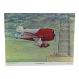 "Image of Original Best of Hubbell Aircraft Print ""The Thompson Racers"" by Charles H. Hubbell, 1970 For Sale"
