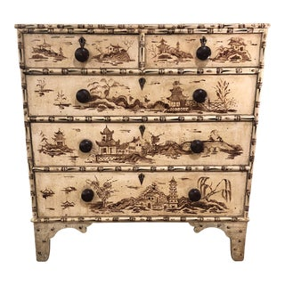 Vintage Chinoiserie Style Chest