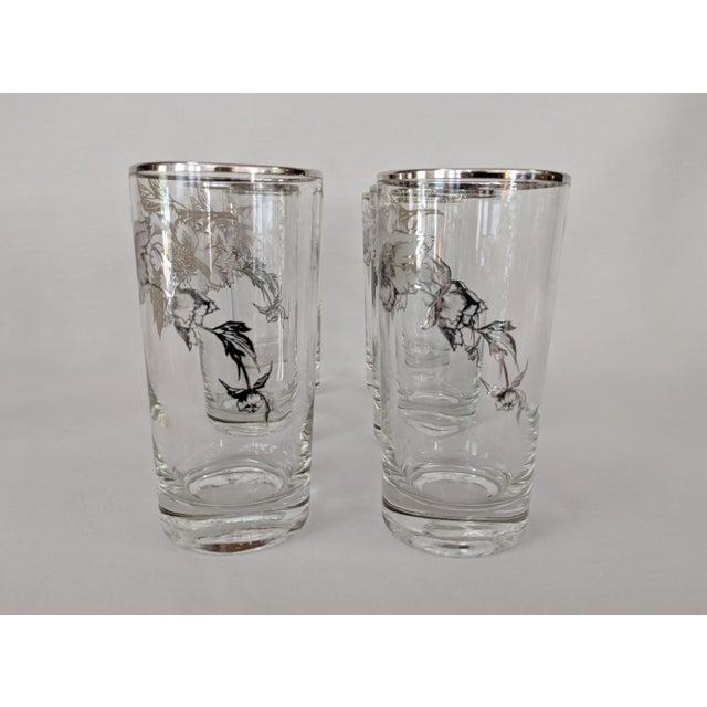 Belle Epoque Sterling Silver Overlay Highboy Glasses - Set of 10 For Sale - Image 3 of 9