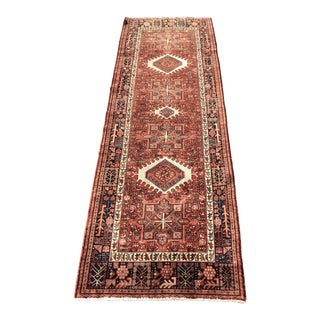 "Vintage Persian Karajeh Runner - 4'4"" x 12'9"" For Sale"