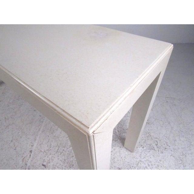 John Widdicomb Mid-Century Modern John Widdicomb Console Table For Sale - Image 4 of 9