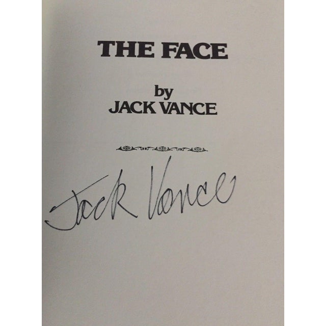 """Textile """"The Demon Princes Series"""" Leatherette Volumes by Jack Vance, Signed - 5 Books For Sale - Image 7 of 8"""