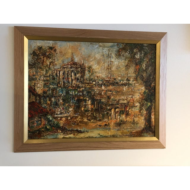 Original Oil Painting by M. Toyt - Image 2 of 4