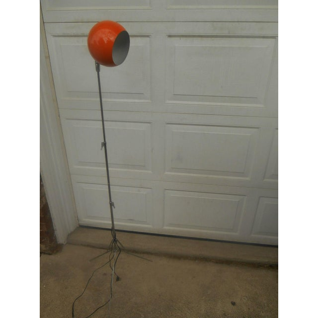Mid Century Modern Atomic Eyeball Floor Lamp - Image 3 of 5