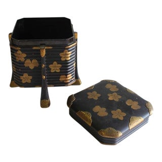 "19th Century Japanese Lacquer "" Hakko Bako "" Box"