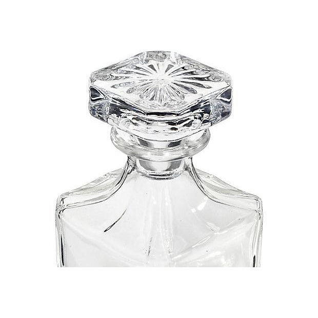 1950s Square Glass Decanter - Image 3 of 5