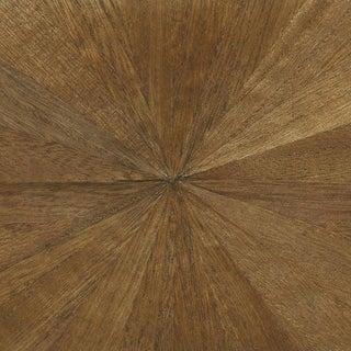 Sample, Ajiro Sunburst Wood Veneer: Chestnut - Wood Veneer Wallcovering For Sale