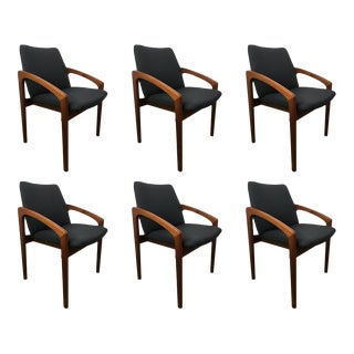 Kai Kristiansen Dining Chairs - Set of 6