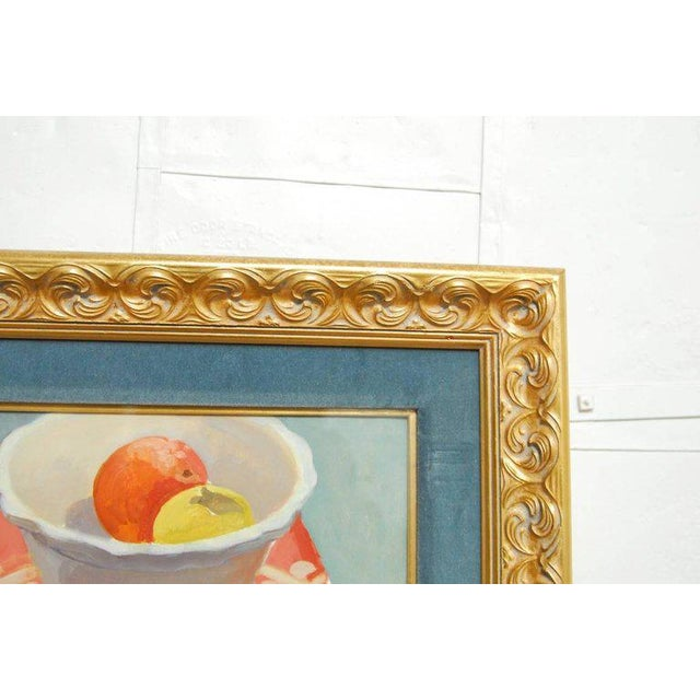 Modern Breakfast Still Life Watercolor Painting by Lisa Esherick For Sale - Image 3 of 11