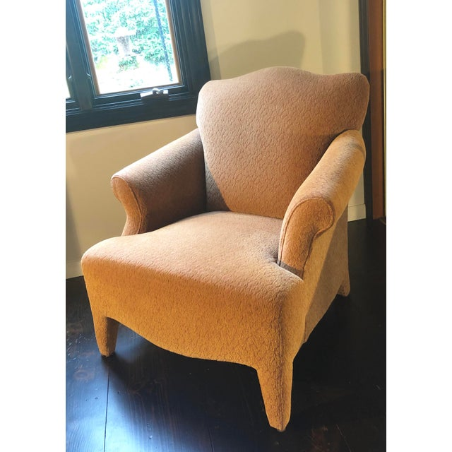 Neoclassical 1990s Vintage John Hutton Style Club Chairs Pair For Sale - Image 3 of 13