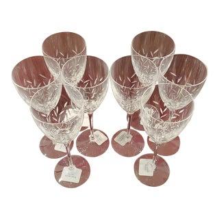 Kate Spade Lenox Beacon Street Wine Glasses- Set of 8 For Sale