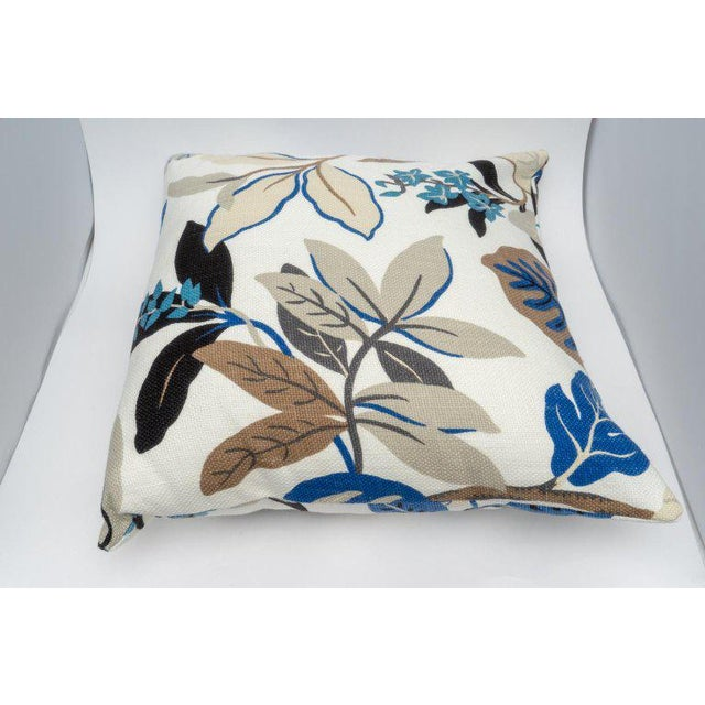 Textile Bespoke Floral Pillows - a Pair For Sale - Image 7 of 11