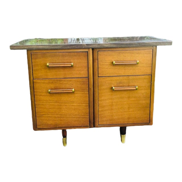 Mid-Century Modern Custom Made Filing Cabinet/Credenza For Sale