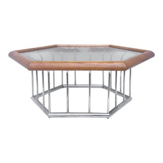 1960s Vintage Modern Coffee Table For Sale