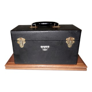 Cinema Equipment Small Carry Case Circa 1940's Artifact For Sale