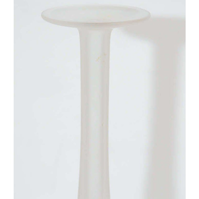 French French Mid-Century Modern Opalescent Vase by Lalique For Sale - Image 3 of 8