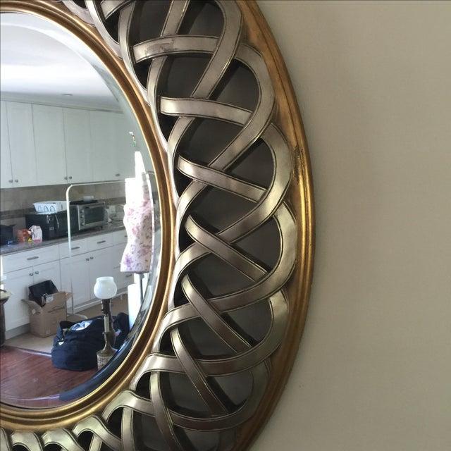 Chinese Round Decorative Mirror - Image 8 of 8