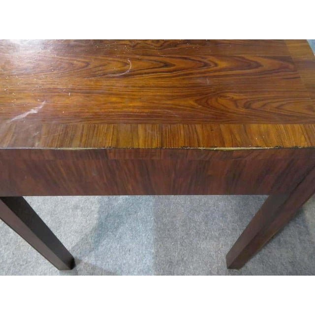 Mid-Century Modern Rosewood Desk by Thomas O'Brien For Sale - Image 3 of 6