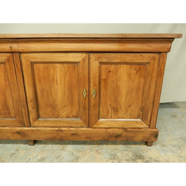 French Walnut 19th Century Enfilade For Sale - Image 10 of 12