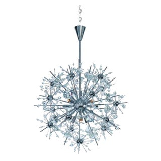 Starfire Chrome Sputnik Chandelier