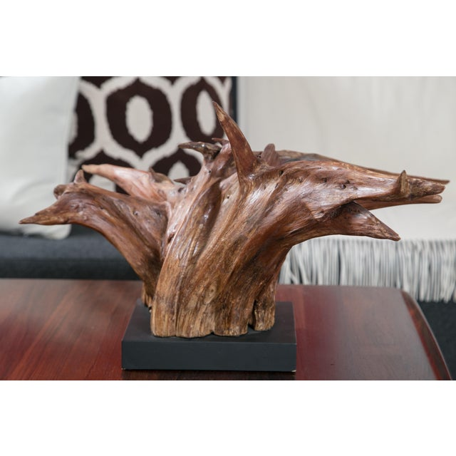 Mounted Driftwood Sculpture - Image 2 of 7