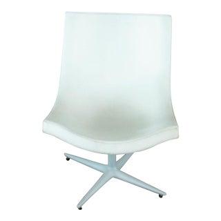 B & B Italia White Chair For Sale