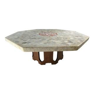Mid-Century Harvey Probber Terrazzo Top Coffee Table For Sale