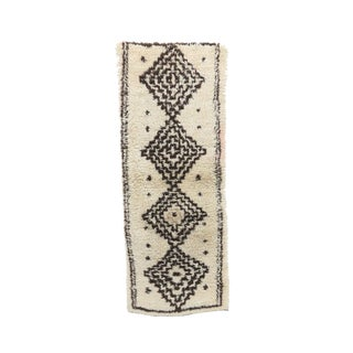 1980s Azilal Moroccan Rug - 2′7″ × 6′8″ For Sale