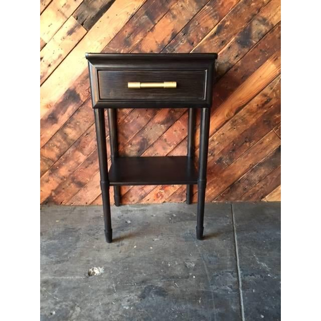Raymond Loewy Vintage Brown Side Table - Image 2 of 5