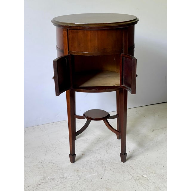 Brown 19th Century English Georgian Side Table For Sale - Image 8 of 13
