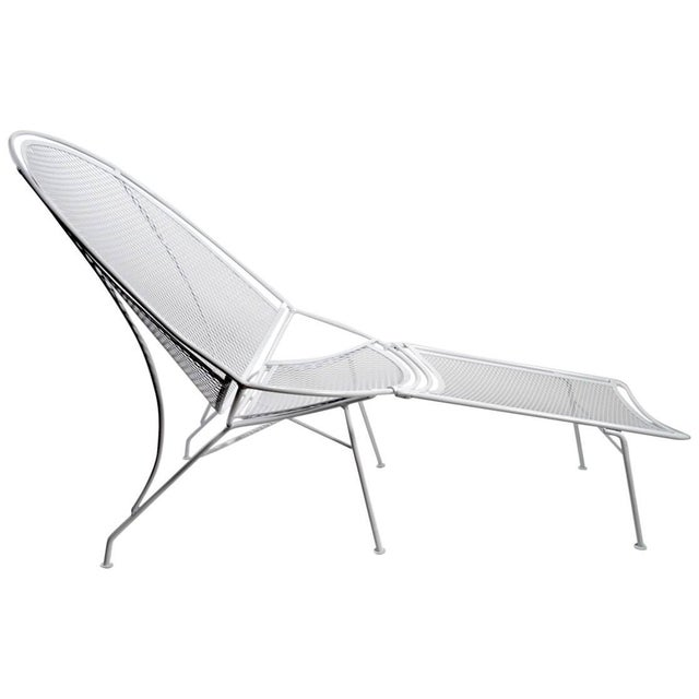 Tempestini for Salterini High Back Lounge With Footrest For Sale - Image 9 of 9